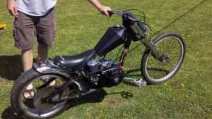 schwinn occ chopper bike 6.5 hp - $550 pell city