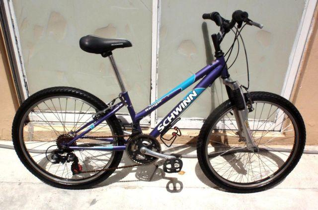 SCHWINN RANGER 2 4 FS LADY MOUNTAIN BICYCLE, 24