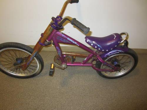 Schwinn Stingray Chopper Bike Low Rider Purple For Sale In
