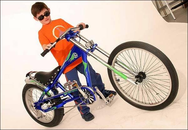 SCHWINN STINGRAY OCC ORANGE COUNTY CHOPPERS Blue and Green BICYCLE - $150
