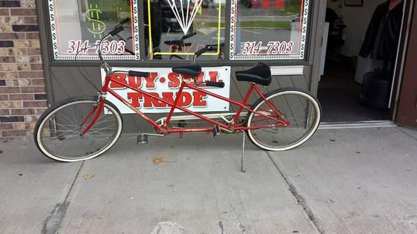schwinn tandem bike 60 39 s for sale in syracuse new york classified. Black Bedroom Furniture Sets. Home Design Ideas