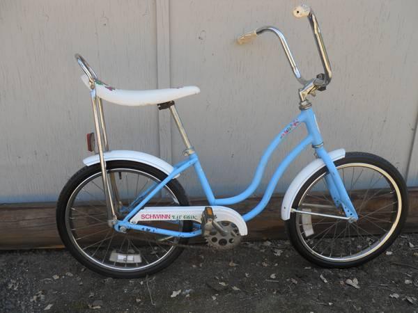 Girls Schwinn Collectible Bicycles : Schwinn vintage lil chik girls bike for sale in redding