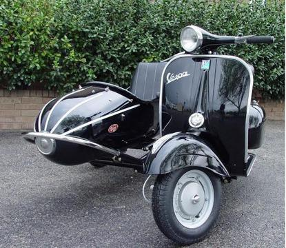 scooter 1965 vespa sidecar for sale in oklahoma city oklahoma classified. Black Bedroom Furniture Sets. Home Design Ideas
