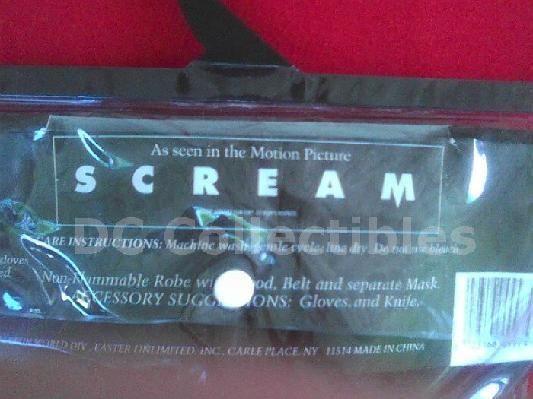 Scream Ghostface MaskRobe Movie Props -Fantastic Faces - Funworld Div