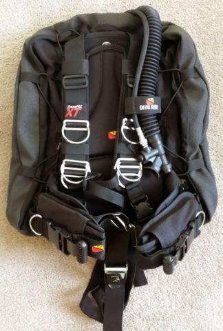 Scuba Gear Dive Rite Transpac Xt Bcd Harness Wing