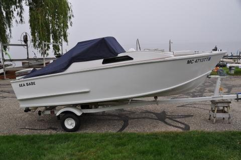 SEA BABE 15' MINI CABIN CRUISER - HAND BUILT IN 2013 FROM 1954 PLANS