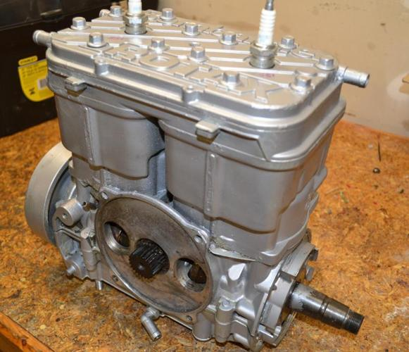 Sea doo engines rotating assemblies and empty crankcase