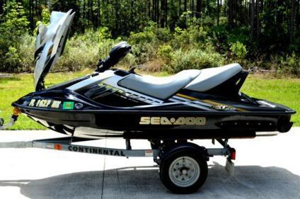 sea doo rxt 215 2008 2009 trailer lowrance gps jet ski