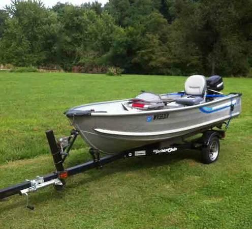 Sea nymph 12 ft deep v for sale in paden city west for Deep sea fishing boat for sale