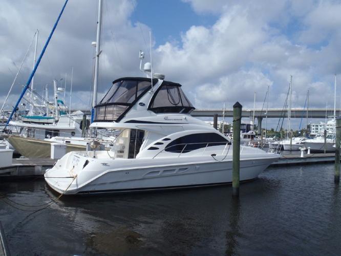 sea ray 420 sedan bridge for sale in stuart florida classified. Black Bedroom Furniture Sets. Home Design Ideas