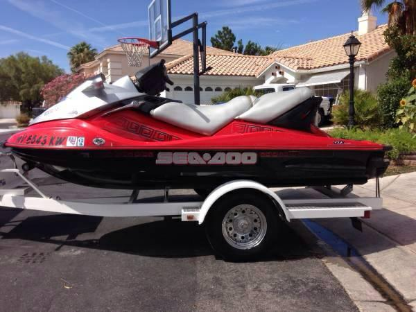 Seadoo Gtx Wakeboard Edition 3 Seat Extremely Fast Reliable For Sale In Las Vegas Nevada