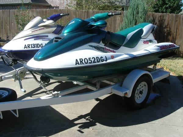Seadoo Jet Skis + trailer - for Sale in Fayetteville