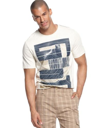 Sean john big tall t shirt gigante short sleeve graphic for T shirt graphics for sale