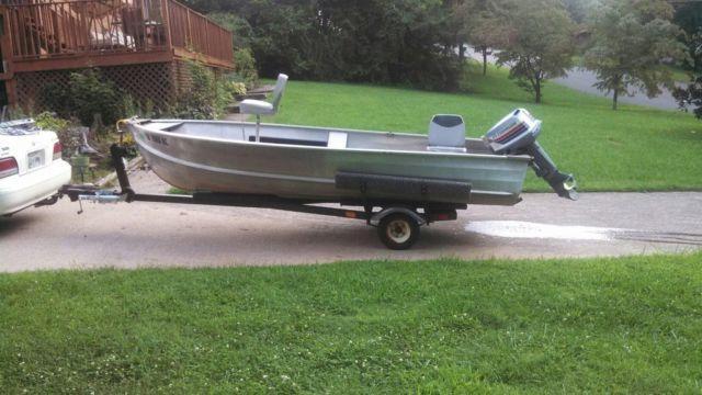 Aluminum Boat: Sears Aluminum Boat