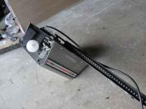 sears craftsman 12 half horsepower garage door opener