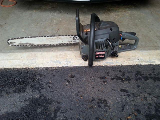 """SEARS CRAFTSMAN 18"""" Chainsaw For Sale In Martinsville"""