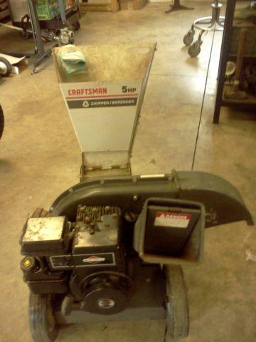 Sears Craftsman 5 Hp Chipper Shredder
