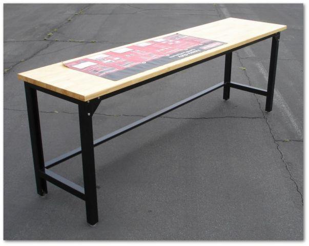 Sears Craftsman 8 Foot Long Heavy Duty Work Bench