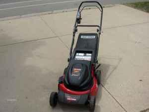 sears electric mower - $65 (janesville)