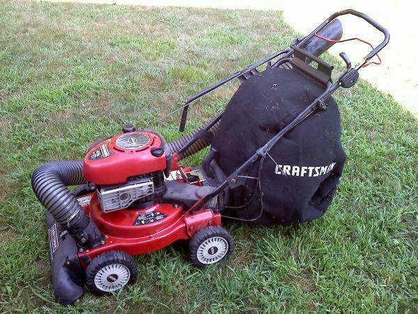 Sears Craftsman Lawn Vacuum And Chipper : Sears leaf vaccuum shredder chipper blower marlborough