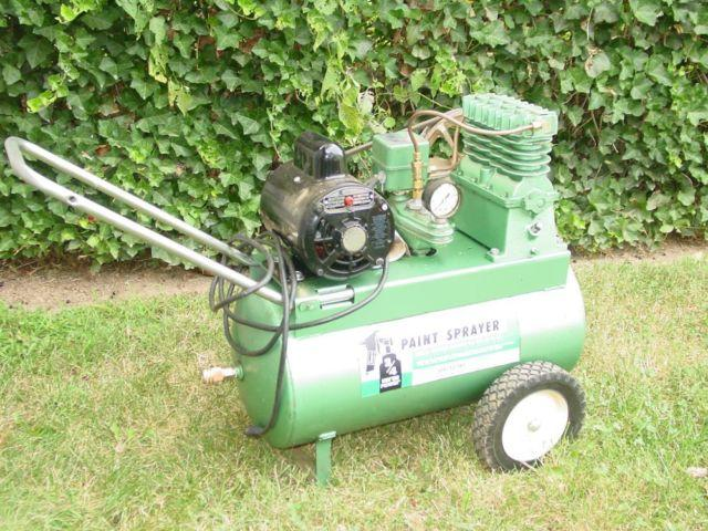 Sears Paint Sprayer 60 Psi 4 Cylinder Model 106 152740