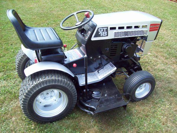 Sears Garden Tractor 16 Horse : Sears suburban gt garden tractor steubenville oh for