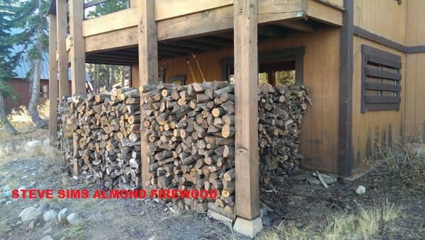 Seasoned Almond Firewood!