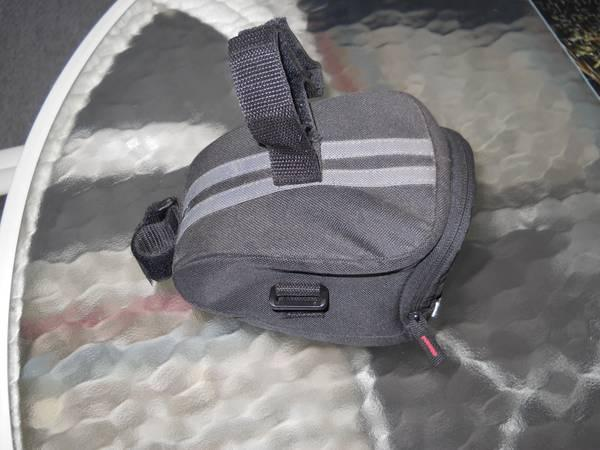 SEAT POST BAG with Safety Light - $10