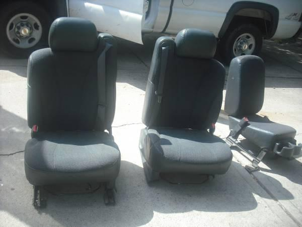 Seats Chevy Silverado Gmc Gmc Sierra 2001 01 For Sale In