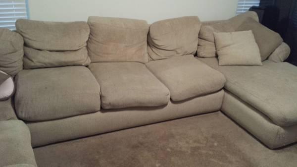 Sectional Feather Couch