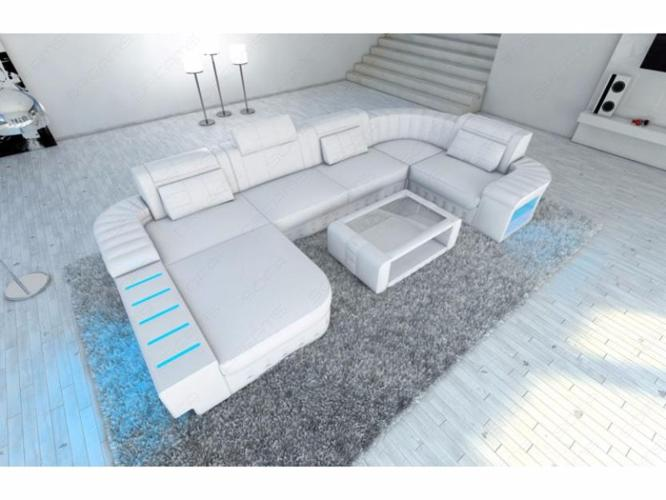 Super Sectional Leather Sofa Bellagio In U Shape For Sale In Fort Beutiful Home Inspiration Xortanetmahrainfo