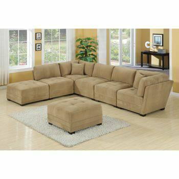 Captivating SECTIONAL SOFA* 7 Piece Modular*1 Year Old*Mocha
