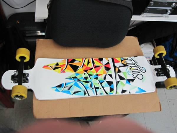 Sector 9 Drop ThruThrough 39 Longboard Skateboard Nice Barely Used - $159
