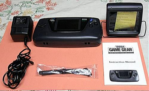 Sega Game Gear/ Color Portable Video Game System &