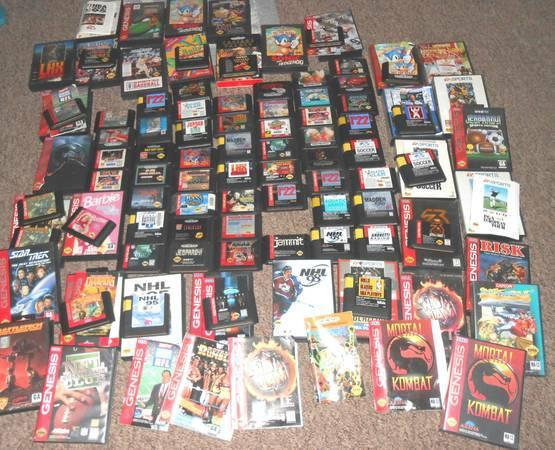 Sega Genesis Game Lot Buy One Or All
