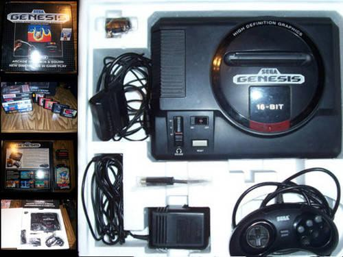 Sega Genesis Original Model 1 with Games!