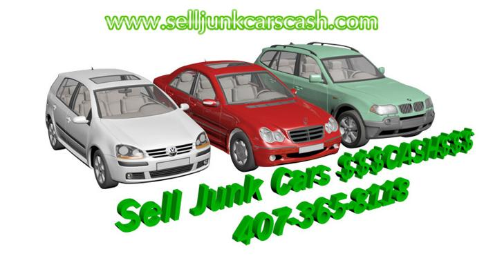 Sell Junk Cars Cash For Junk Car Orlando Free Towing Used