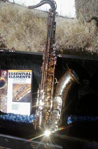 Selmer U.S.A Tenor Saxophone TS-100 With Original Case
