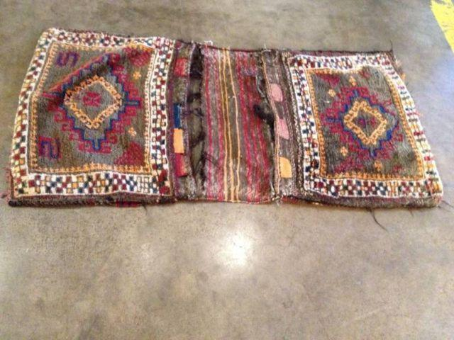 Semi Antiques Turkish Tribal Camel or Horse Bag