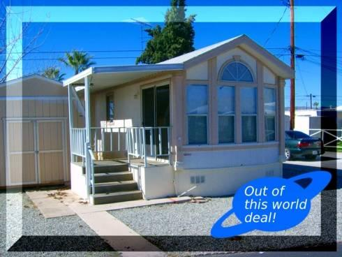 Senior Mobile Home Park Has Rentals Available Move In