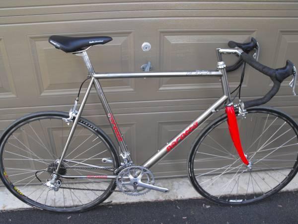 Amazing Serotta Titanium 60cm Road Bike Campagnolo   $980