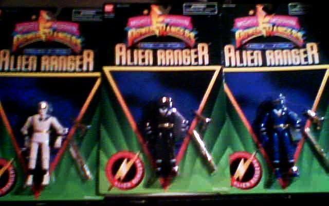Alien Rangers Toys 68