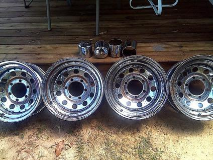 Set of 4 Good Used 6-Lug Rims 15x 8 x 4 14 CHD - Hartsville, SC