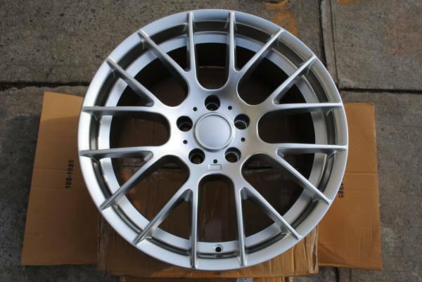 Set of 4 Hyper Silver Rims M3 GTS Style Wheels Fit BMW 328I 330I 335I - $700