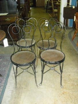 Set Of 4 Ice Cream Chairs For Sale In Kutztown