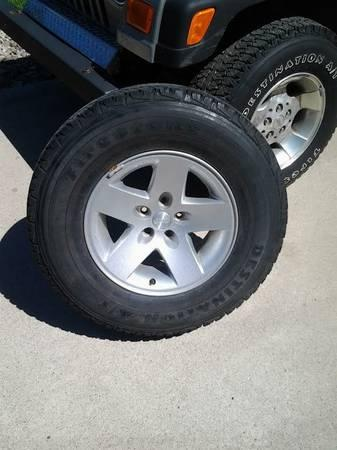 Set of 4 Rubicon Rims and Tires $500 - $500