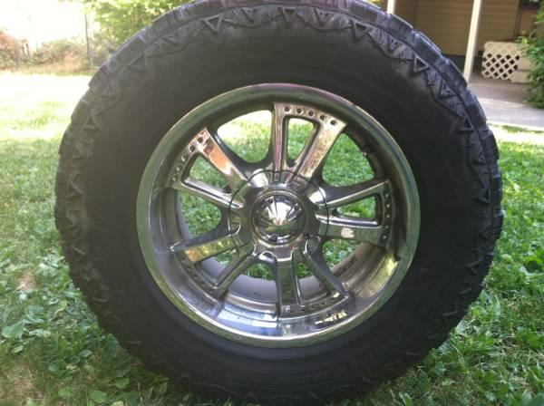 Set of 4 tires and rims for sale - $380