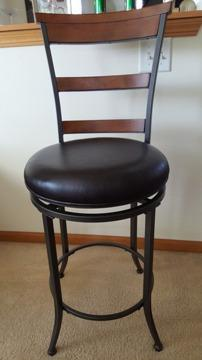 Set of 5 Hillsdale Furniture Cameron Counter Stool in