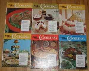 Set of 6 COOKBOOKS - $3 (Cherry Valley)