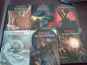Set of Singer sewing books Hard cover - $60 (S. Austin